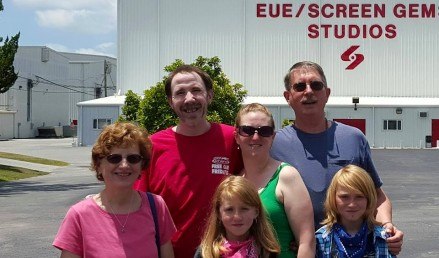 The Fam at Screen Gems